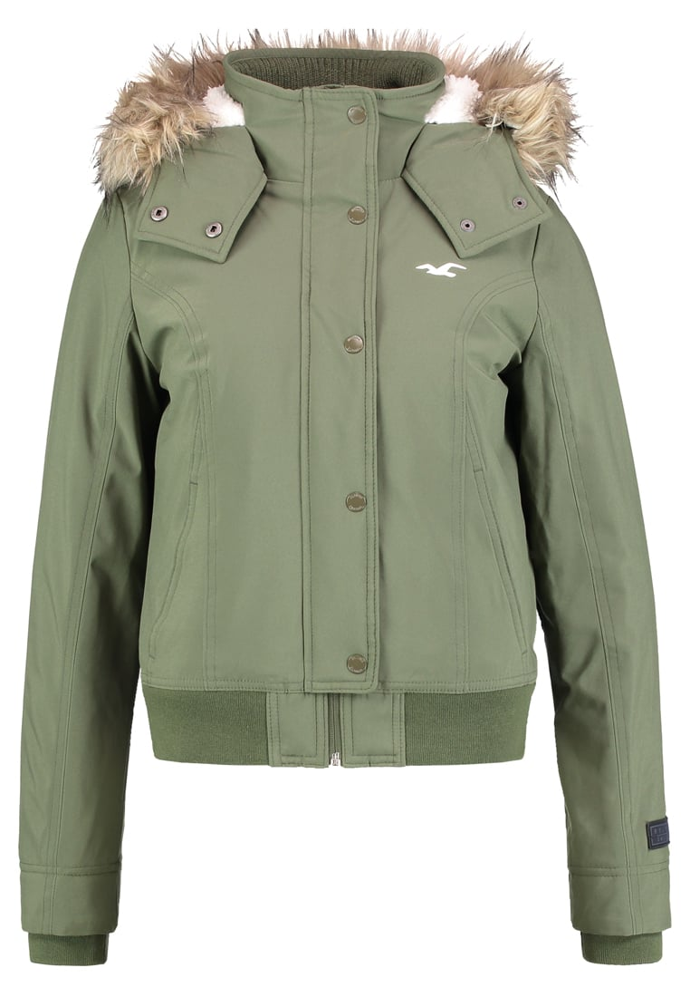 Hollister Co. ALL WEATHER Kurtka zimowa olive - KI344-7522