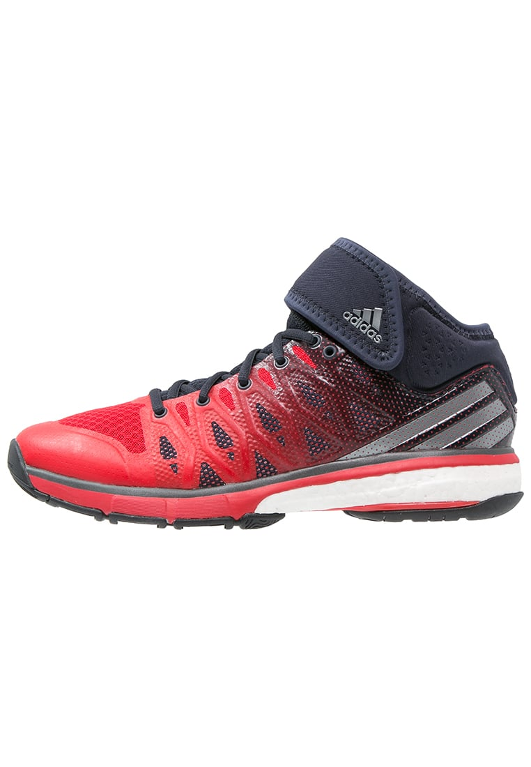 adidas Performance ENERGY VOLLEY BOOST Buty do siatkówki vivid red/night metallic/night navy - KEH52