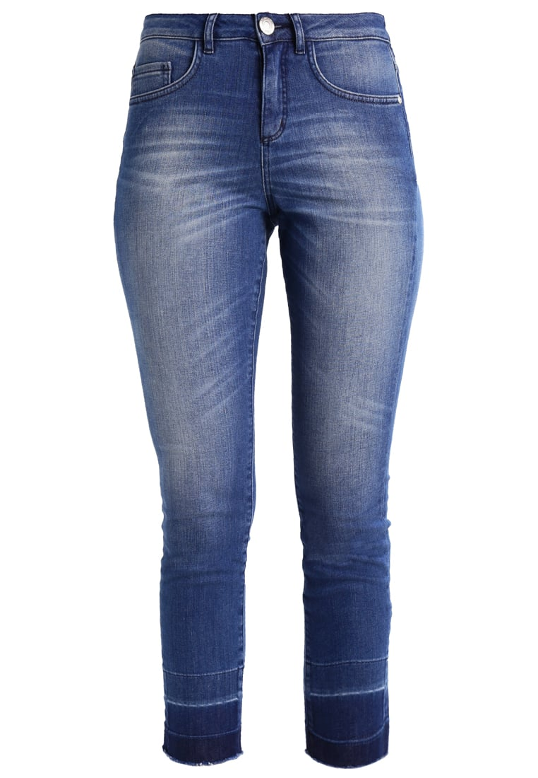 Opus EBBY Jeansy Slim fit authentic blue - 225523967