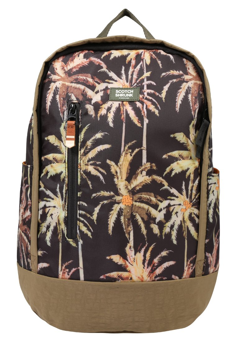Scotch Shrunk ALL OVER PRINTED BACKPACK Plecak brown - 143112