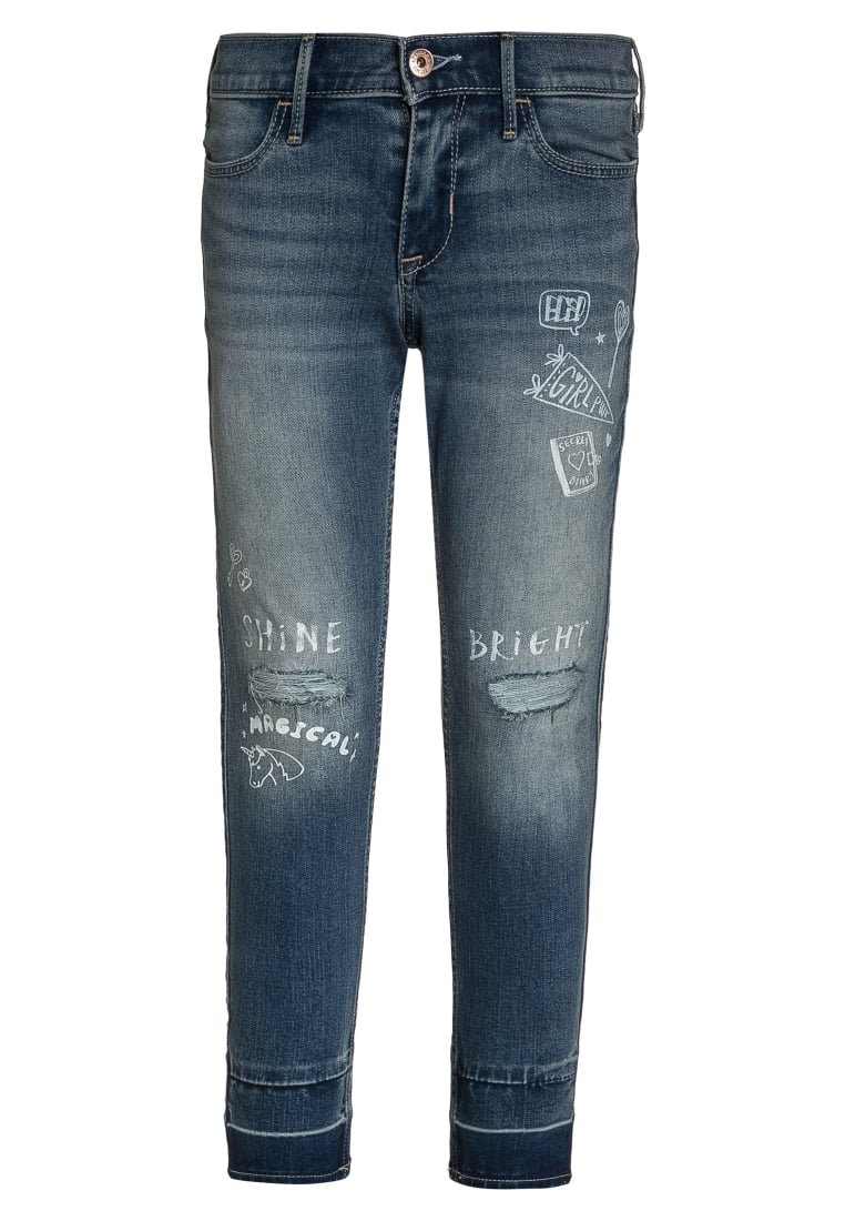 Abercrombie & Fitch Jeans Skinny Fit lightblue denim - KI255-7012