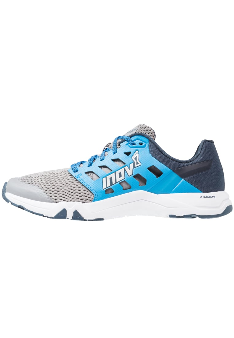 Inov8 ALL TRAIN 215 Buty treningowe grey/blue/navy - 000566