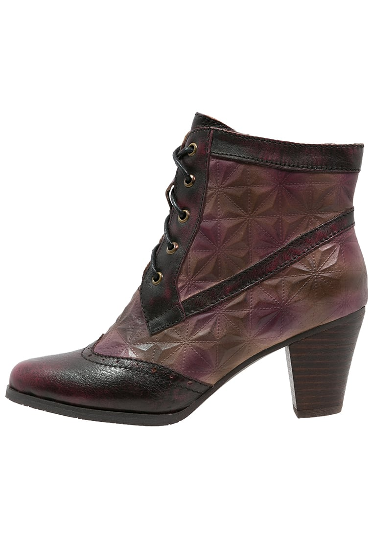 LAURA VITA AGATHE Ankle boot wine - AGATHE 23