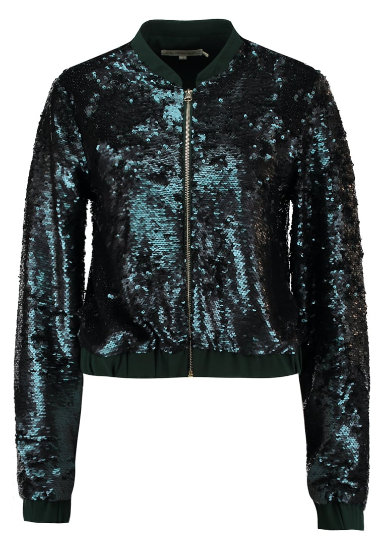 Little White Lies PIPER Kurtka Bomber dark green - 1003