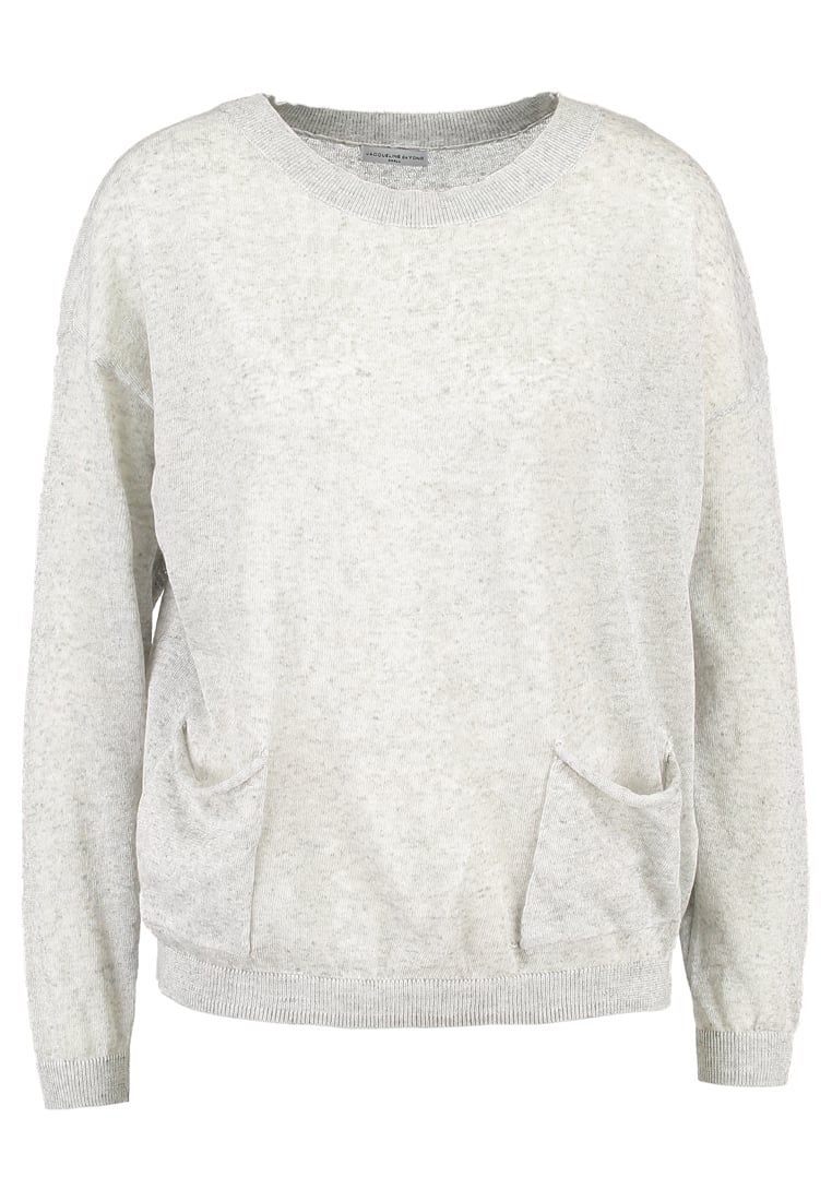 JDY JDYAMELIA Sweter light grey melange - 15129377