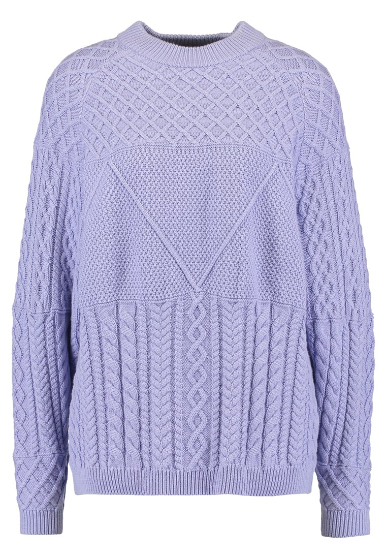 JUST FEMALE TURO CABLE  Sweter lavender