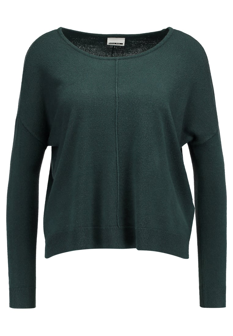 Noisy May Petite NMCHEN BOATNECK Sweter green gables - 10163249