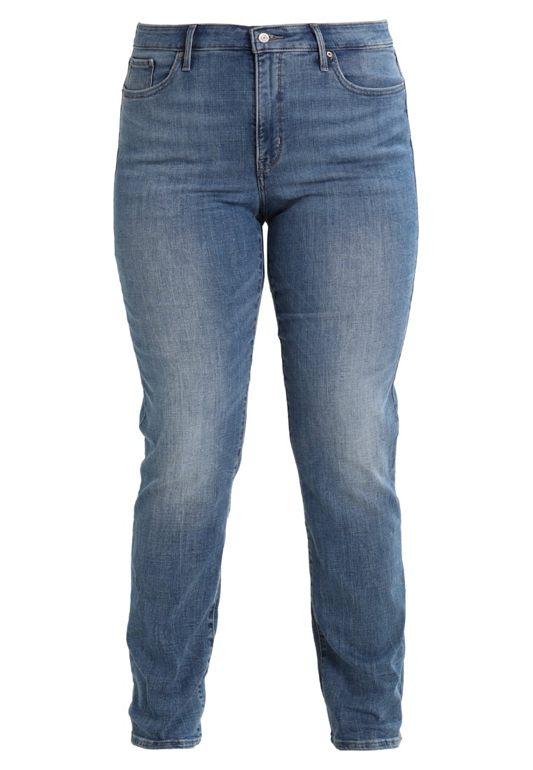 Levi's® Plus 314 PL SHAPING STRAIGHT Jeansy Straight leg water crackle - 19641