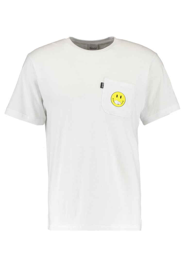 RIPNDIP EVERYTHINGLL BE OK Tshirt z nadrukiem white - RND1630