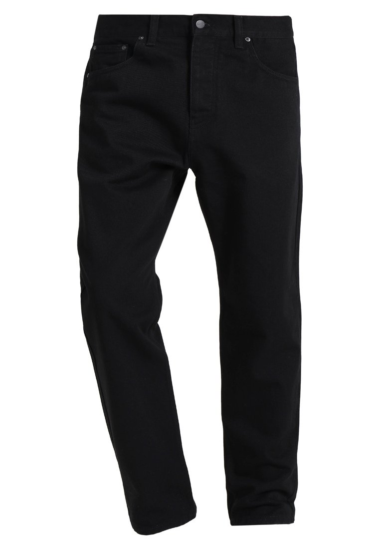 Carhartt WIP NEWEL MAITLAND Jeansy Relaxed Fit black rinsed - I024905