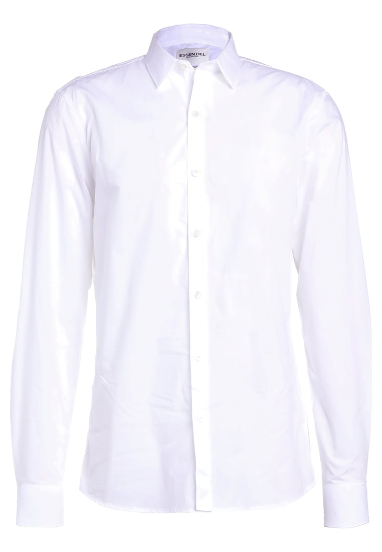 Essentiel Antwerp IDYLLIC SLIM FIT Koszula biznesowa white - M_Idyllic Slim Fit Shirt