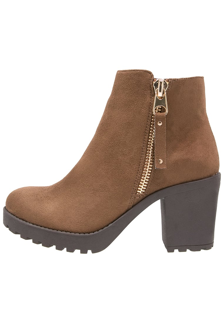 H.I.S Ankle boot taupe - 28358