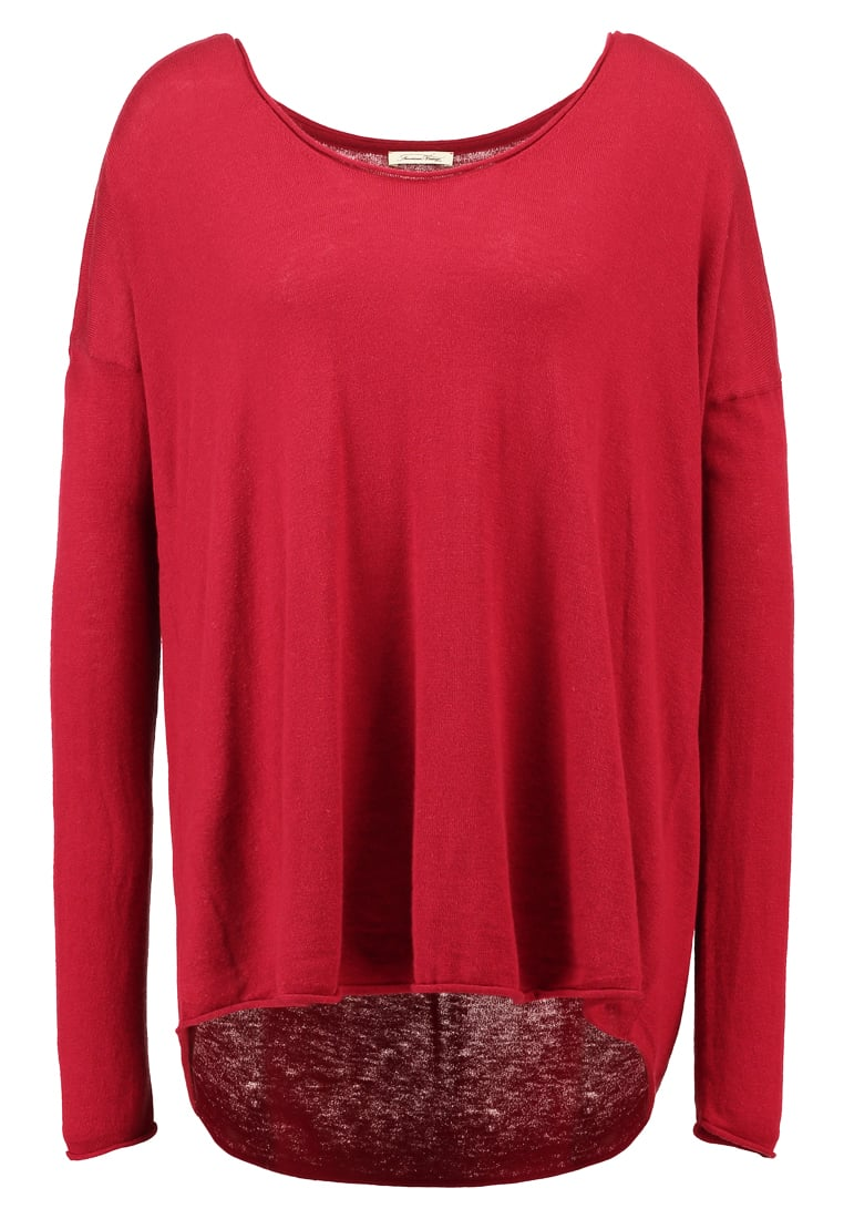 American Vintage BLOSSOM Sweter rouge - Bloss220