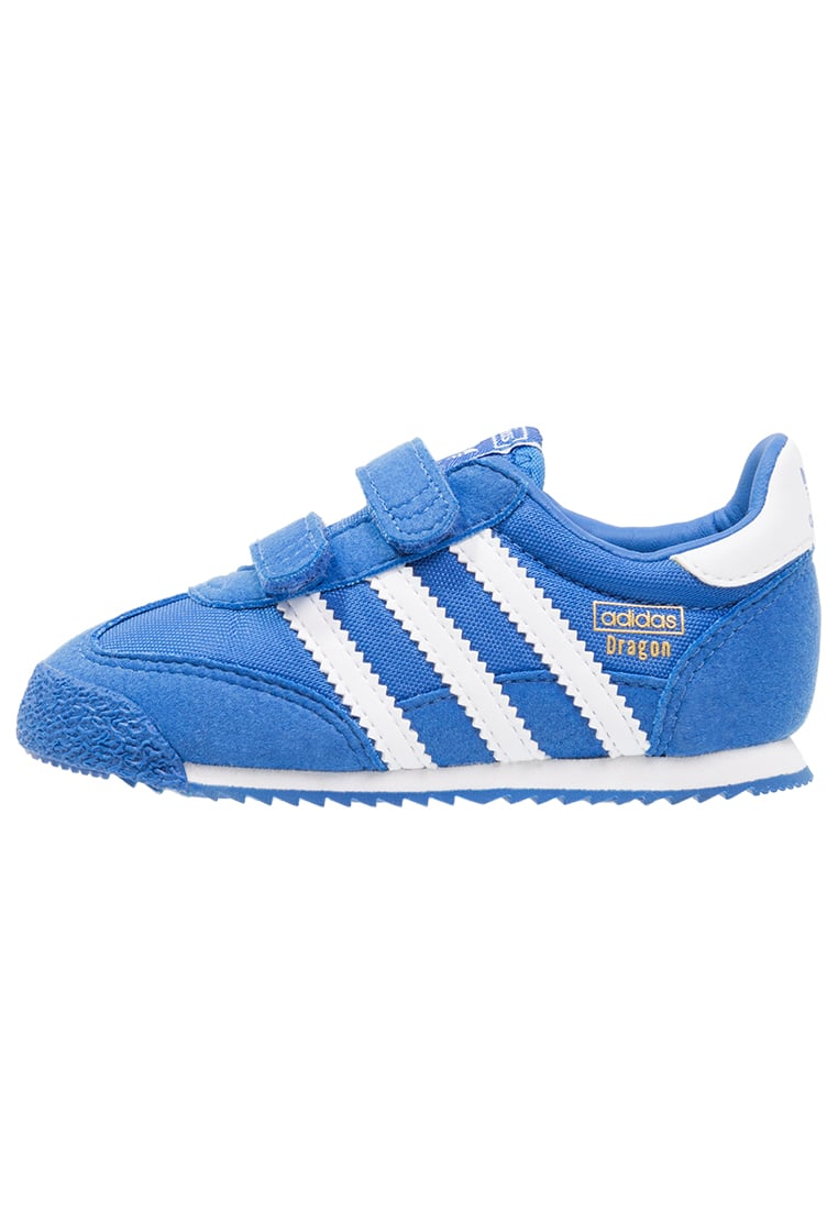adidas Originals DRAGON Tenisówki i Trampki blue/white - BER57