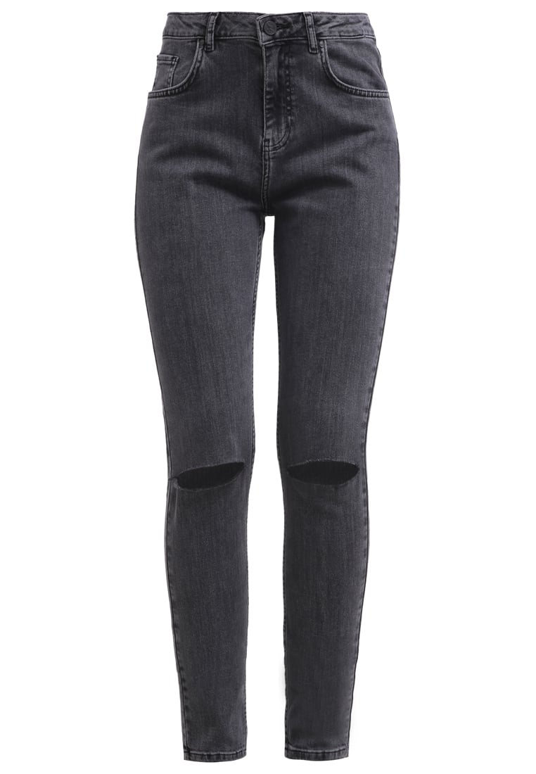 Bik Bok GELENA Jeansy Relaxed fit anthracite - 7171440
