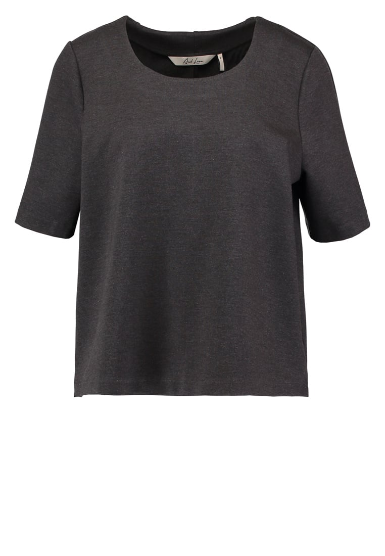 And Less CLEON Tshirt basic grey melange - 5117305