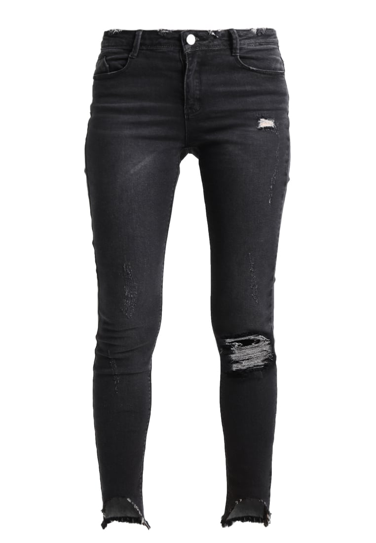 Missguided ANARCHY STEPPED Jeans Skinny Fit black - WSG1802540