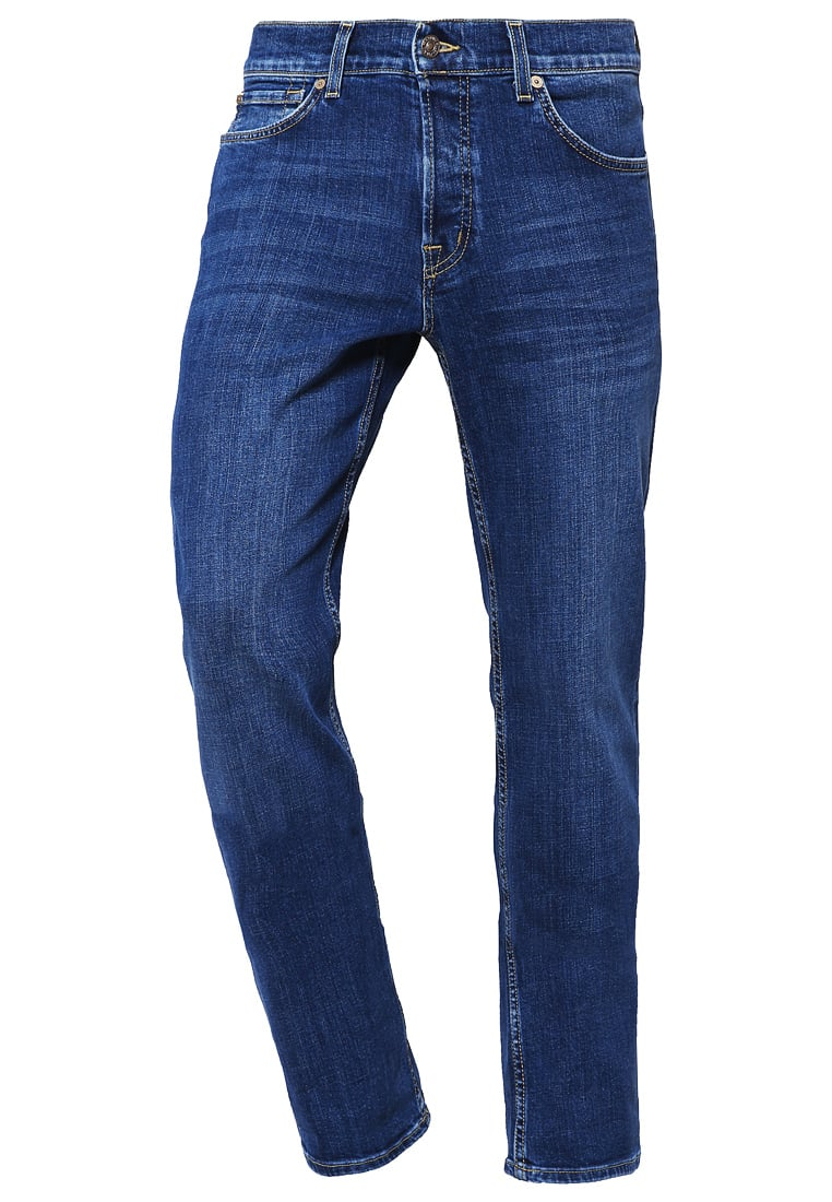 7 for all mankind STANDARD Jeansy Straight leg midblue - SMNU010