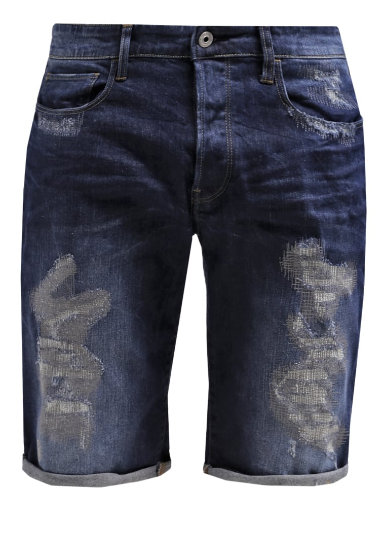 GStar 3301 TAPERED 1 Szorty jeansowe medium aged restored - D01424
