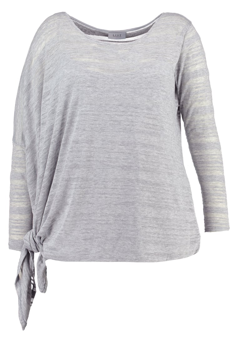 Live Unlimited London 2IN1 Sweter grey marl - LUZ511