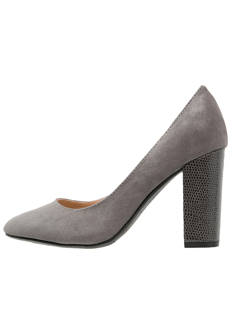 Head over Heels by Dune AMY Szpilki grey - 0162508150003637