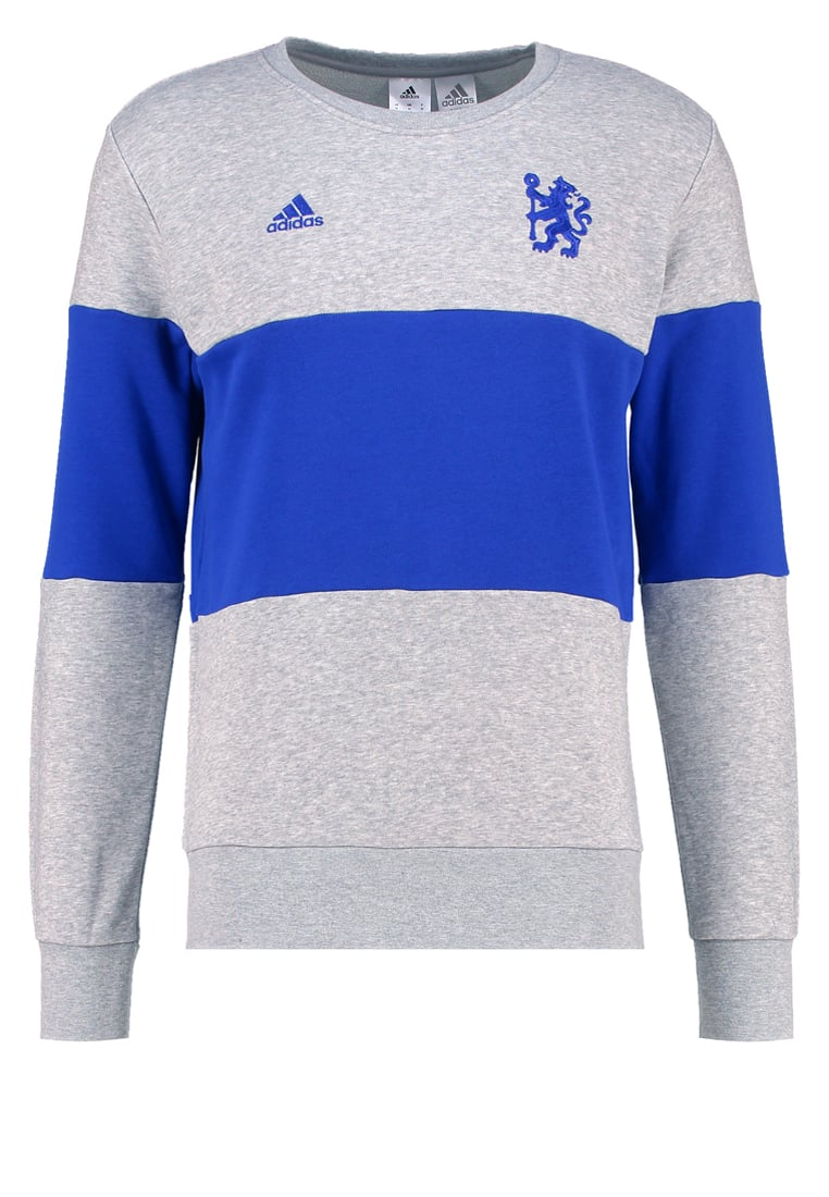 adidas Performance CHELSEA FC Artykuły klubowe medium grey heather/chelsea blue - BVI73