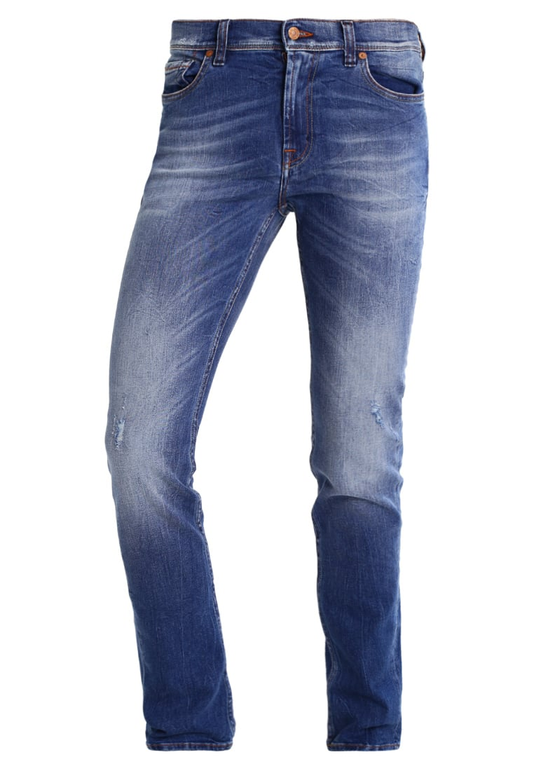 7 for all mankind RONNIE Jeansy Slim fit amemoobriblu - SD4R690BP