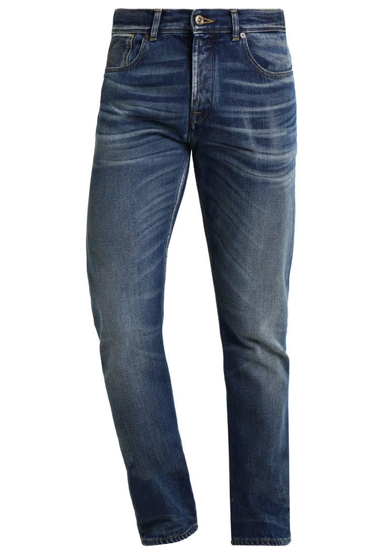 7 for all mankind CHAD Jeansy Straight leg kazan vintage blue - SD3R680AA