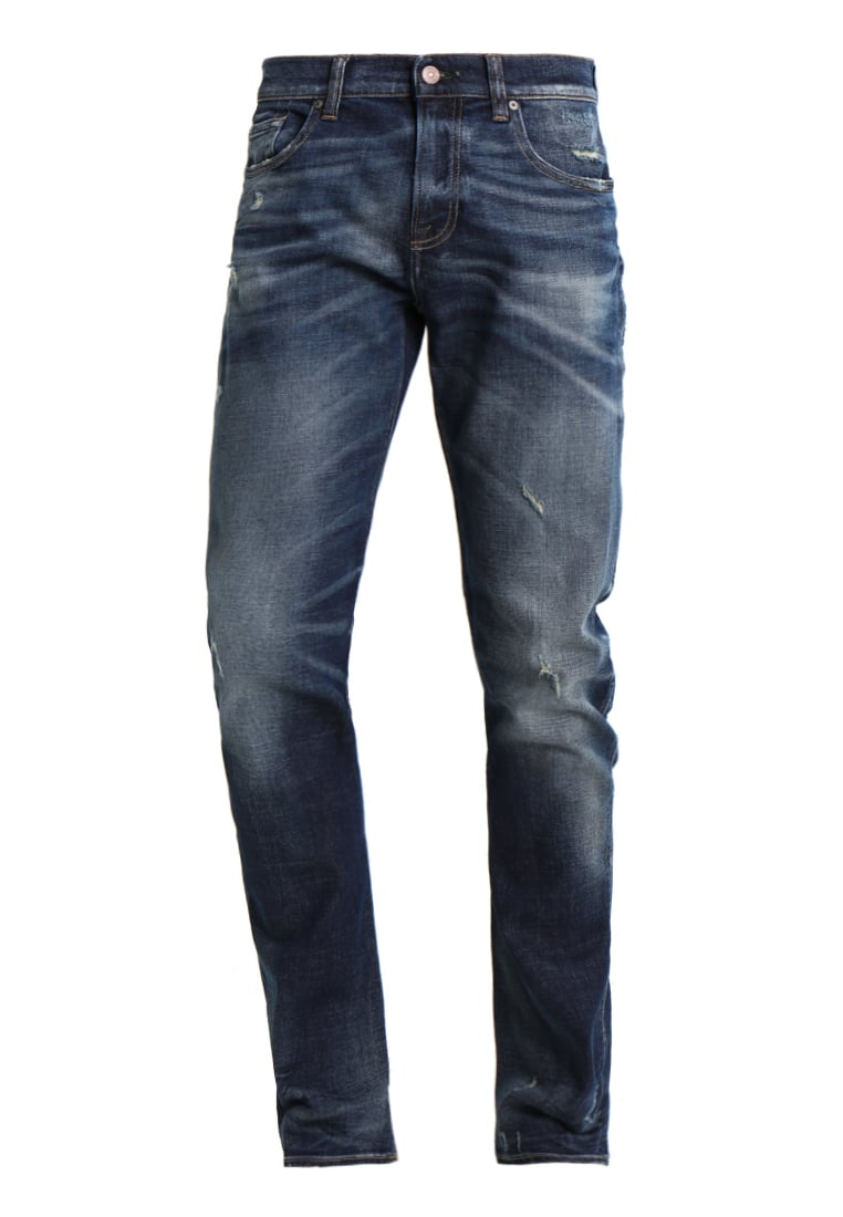 7 for all mankind CHAD Jeansy Straight leg blue - SD3U150EH