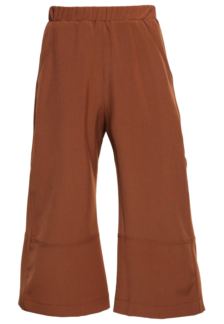 House of Sunny Spodnie materiałowe chocolate - Fit and Flare Culotte