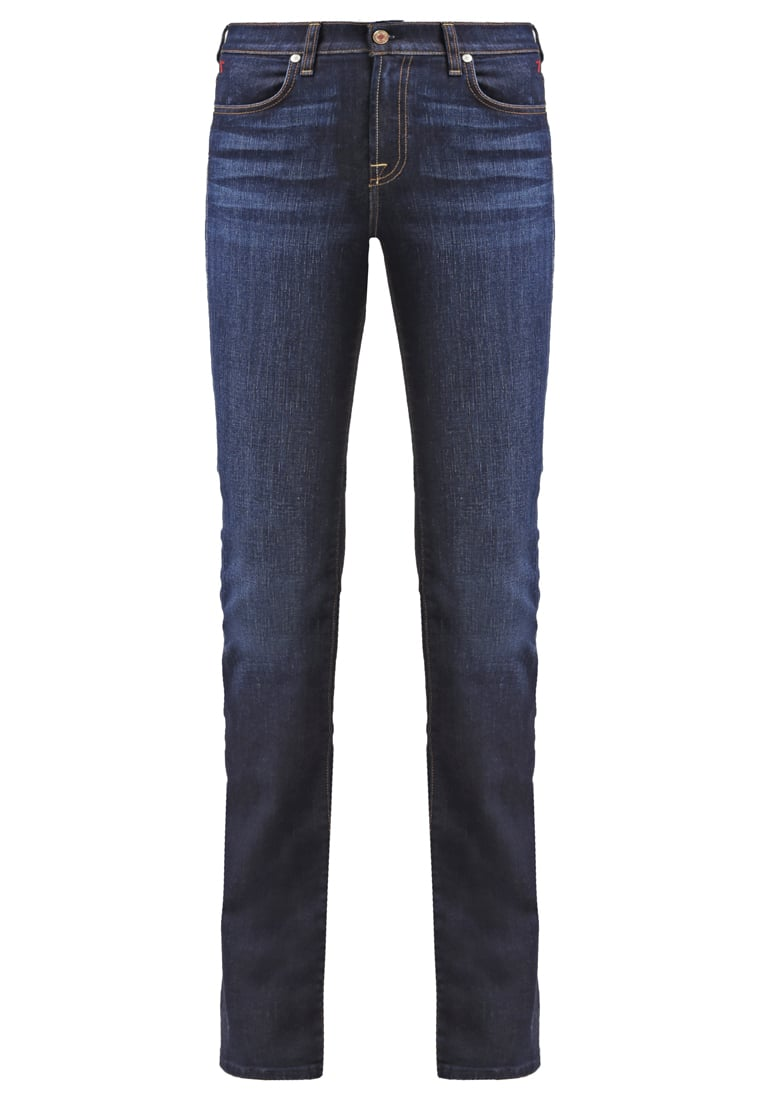 7 for all mankind ICONIC Jeansy Bootcut blue denim - SWB4400