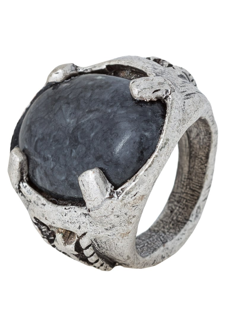 Double U Frenk LEGIONARY Pierścionek marmoreal black - LEGIONARY RINGS