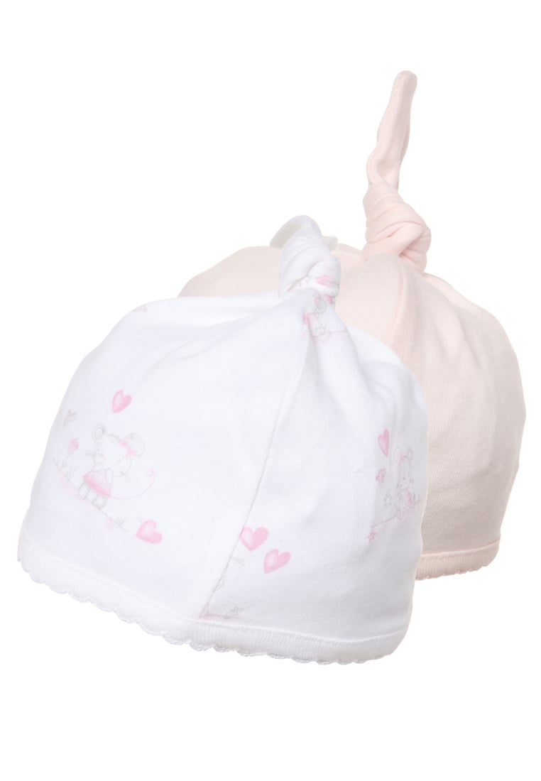 mothercare 2 PACK Czapka barely pink - LD398