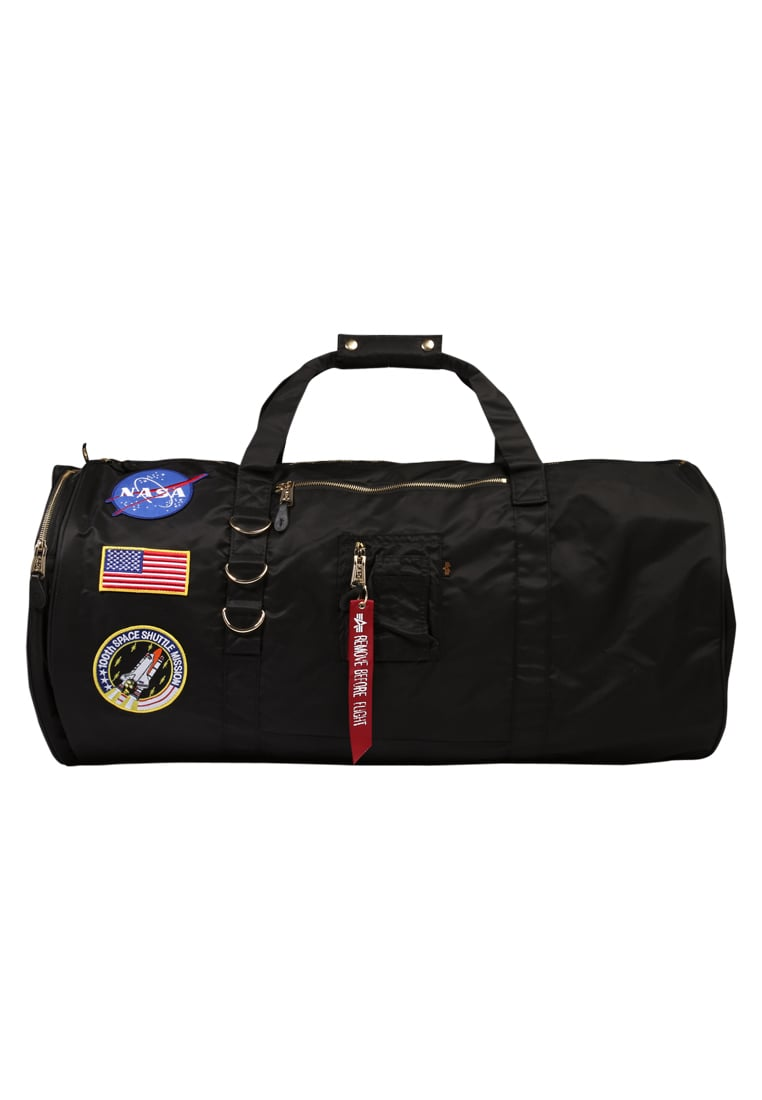 Alpha Industries FLIGHT DUFFEL BAG NASA Torba podróżna black - 178913