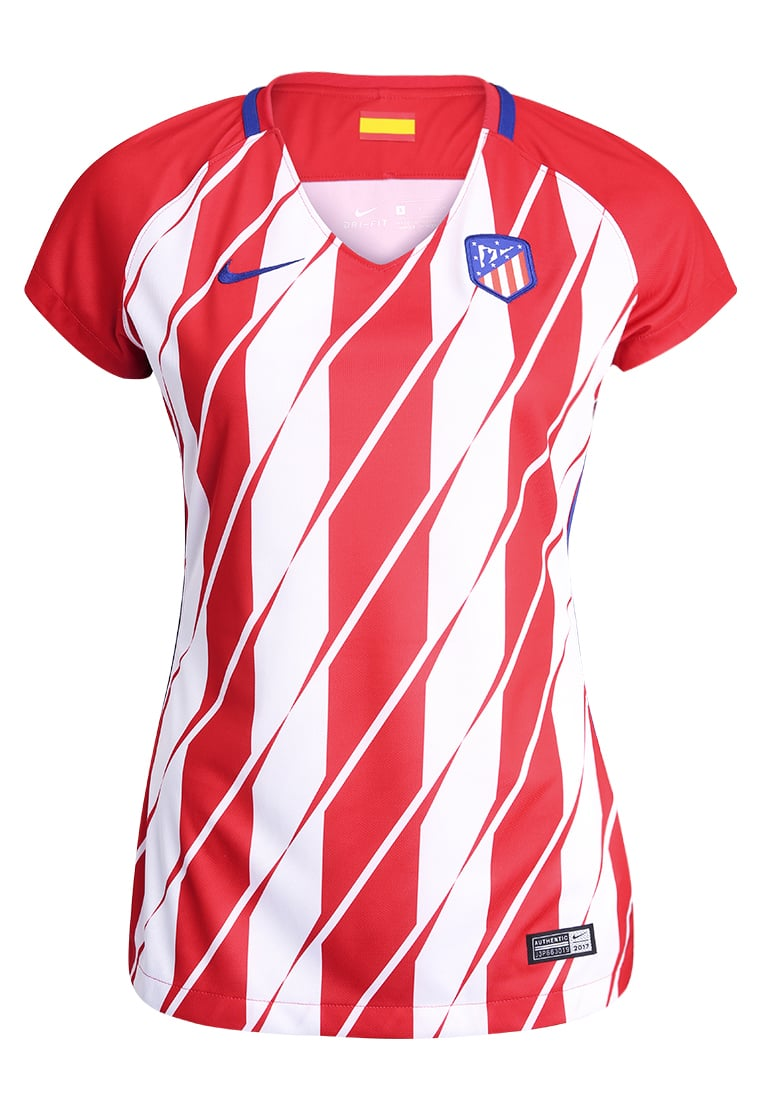Nike Performance ATLETICO MADRID HOME Artykuły klubowe sport red/white/deep royal blue - 847219