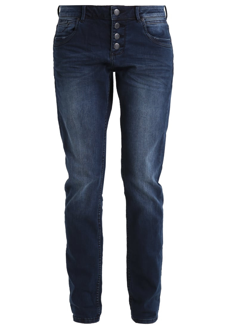 Q/S designed by Jeansy Straight leg blue denim tinted - 41610712224