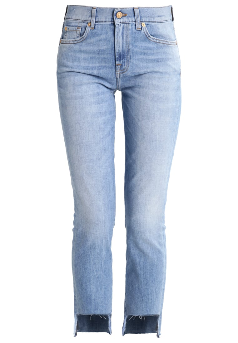 7 for all mankind ROXANNE Jeansy Slim fit lightblue denim - SLJR510