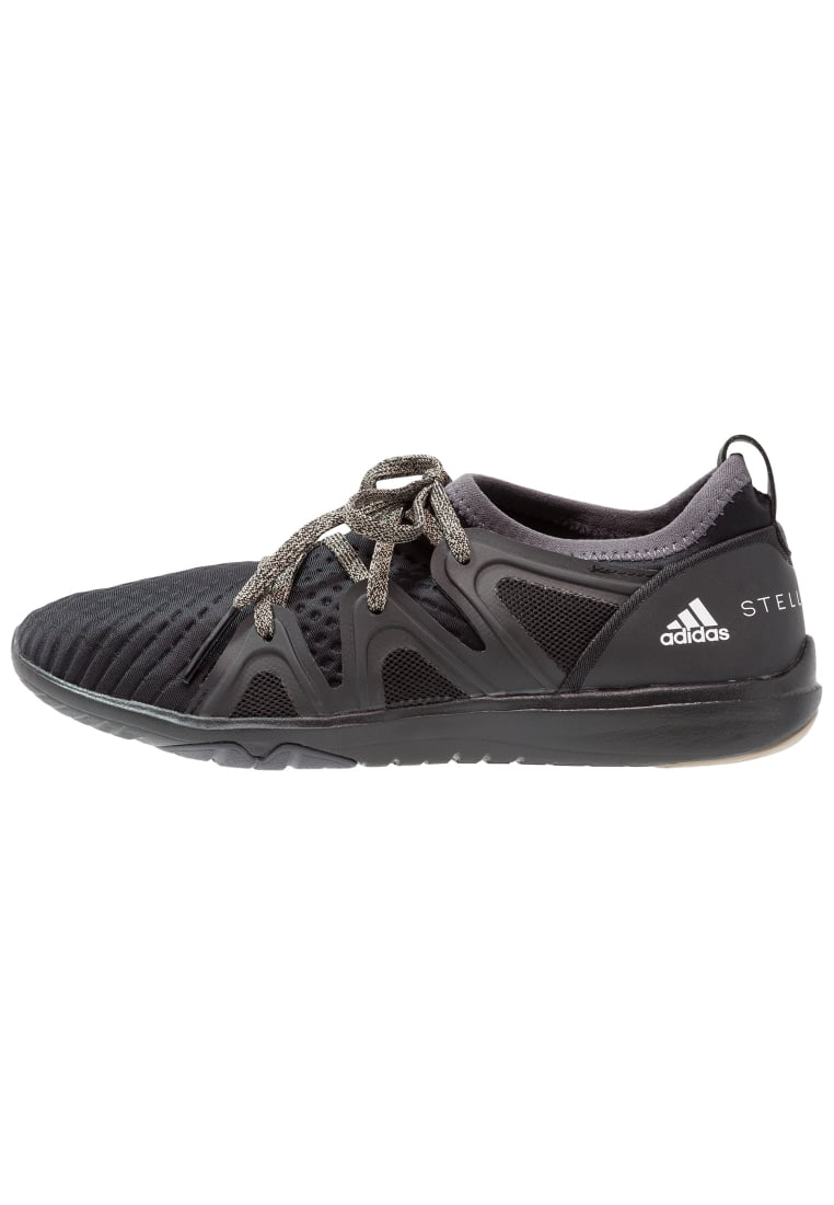 adidas by Stella McCartney CRAZYMOVE PRO Buty treningowe core black/night steel/shell beige - CCX20