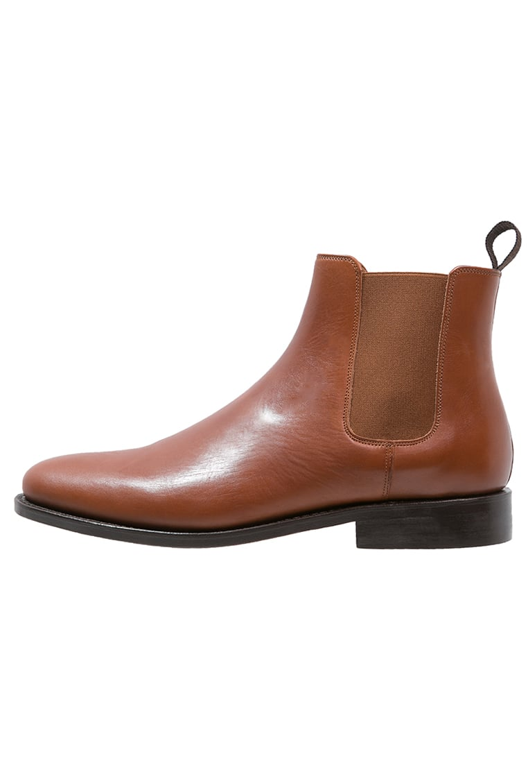 Peralston Botki cognac - PE-CB-01 CHELSEA BOOT  Smooth Leather