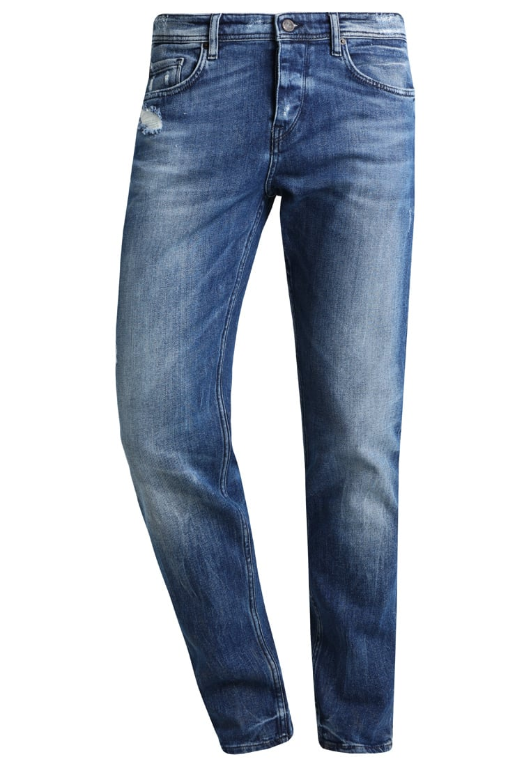 BOSS Orange Jeansy Relaxed fit blue - 50370745