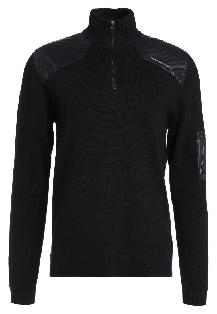 Porsche Design Sport by adidas KNIT JUMPER Sweter black - BR9347
