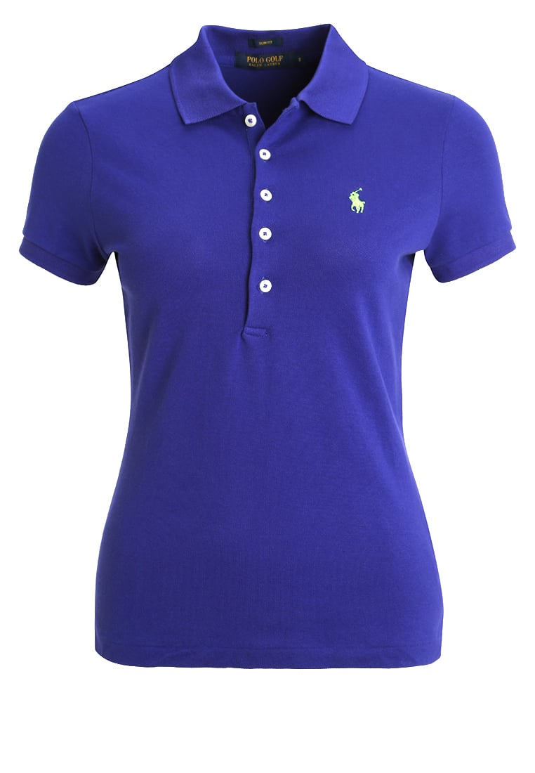 Polo Ralph Lauren Golf CLUB Koszulka polo flag royal - 418IK340B9897