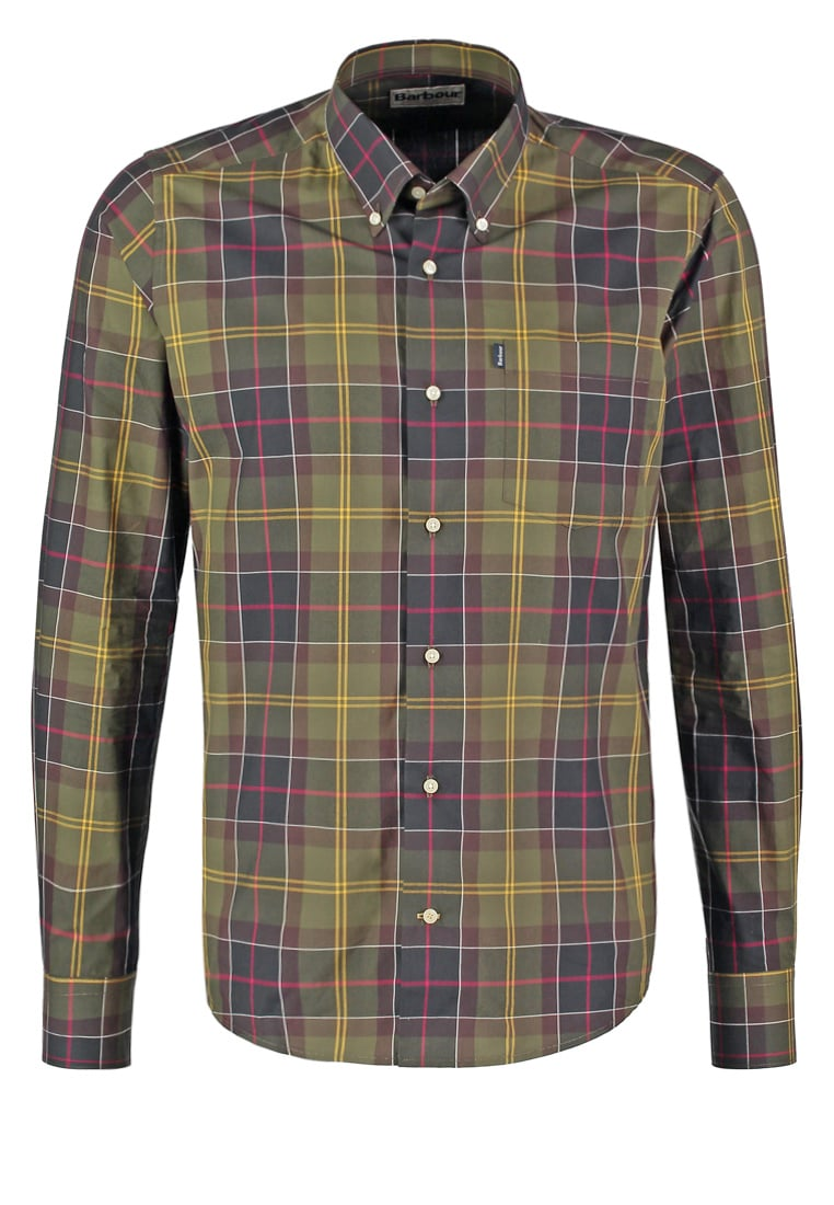 Barbour HERBERT TAILORED FIT Koszula green - MSH3339