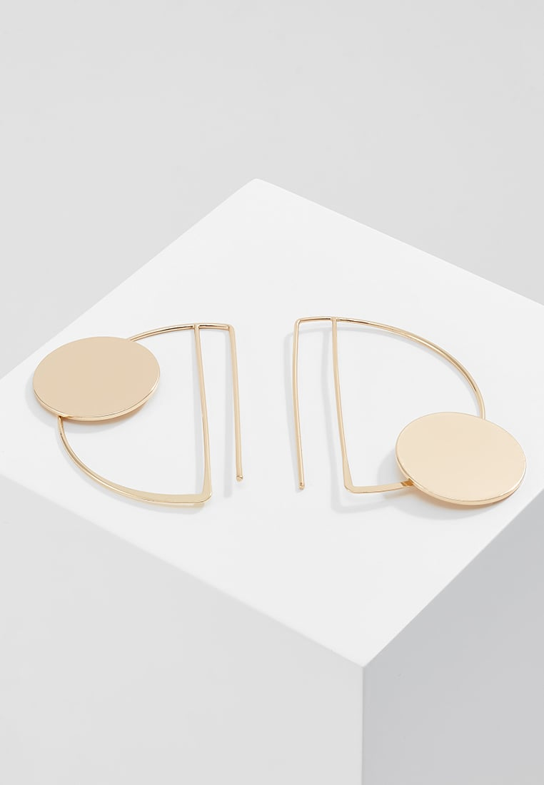 Finery CANTIRE D RING AND CIRLE Kolczyki goldcoloured - Cantire D Ring and Cirle Earrings