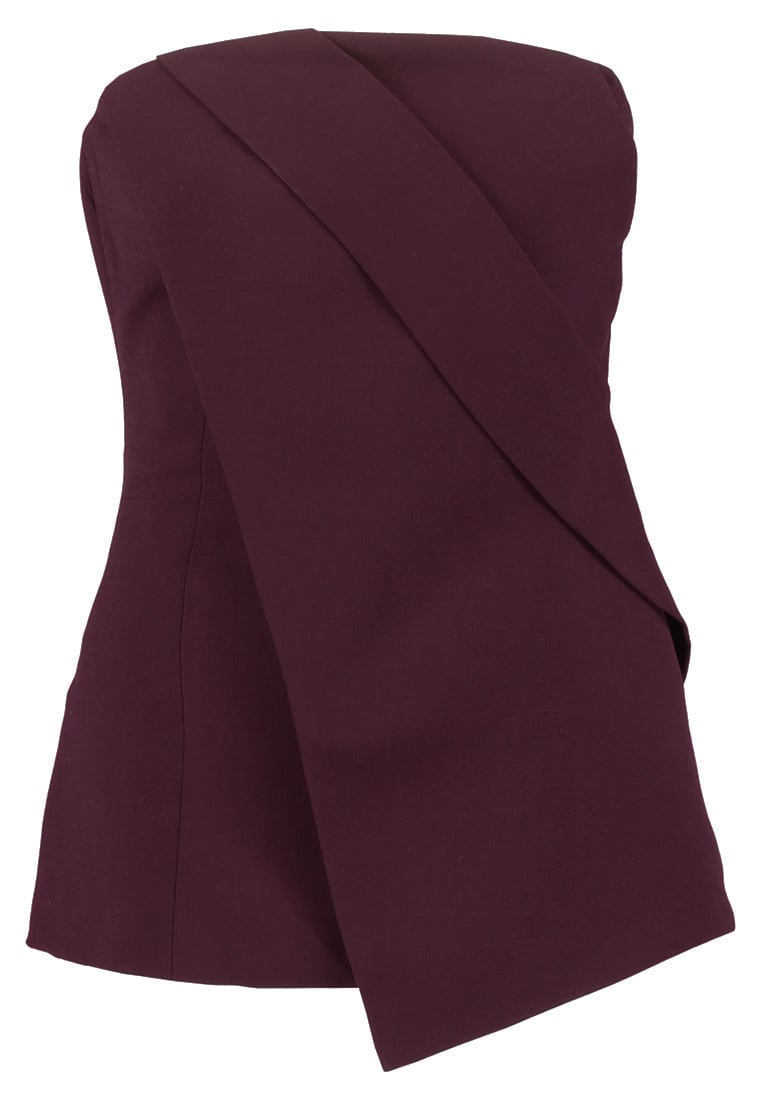 Cameo Collective DONT STOP Top aubergine - CX170516T