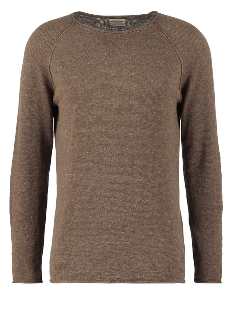 Selected Homme CLASH Sweter caribou - 16047273