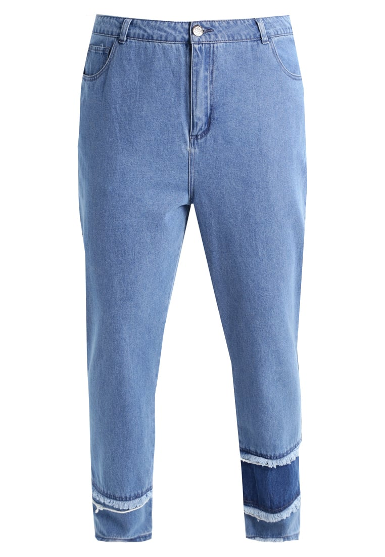 Daisy Street Plus MOM Jeansy Relaxed Fit blue - NBB106PLUS