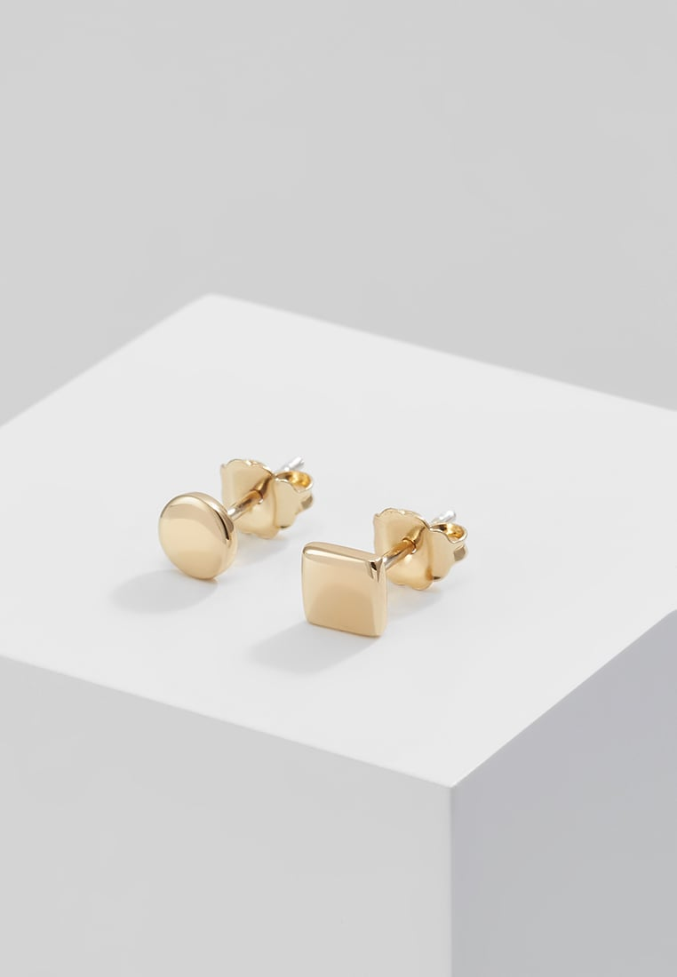 Elizabeth and James SERRA STUDS Kolczyki goldcoloured - 8E6796AV-O