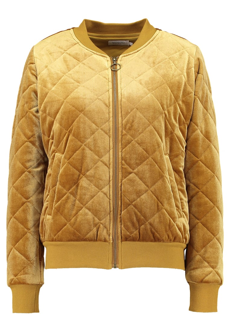 Soaked in Luxury ADDISON Kurtka Bomber inca gold - 30402475