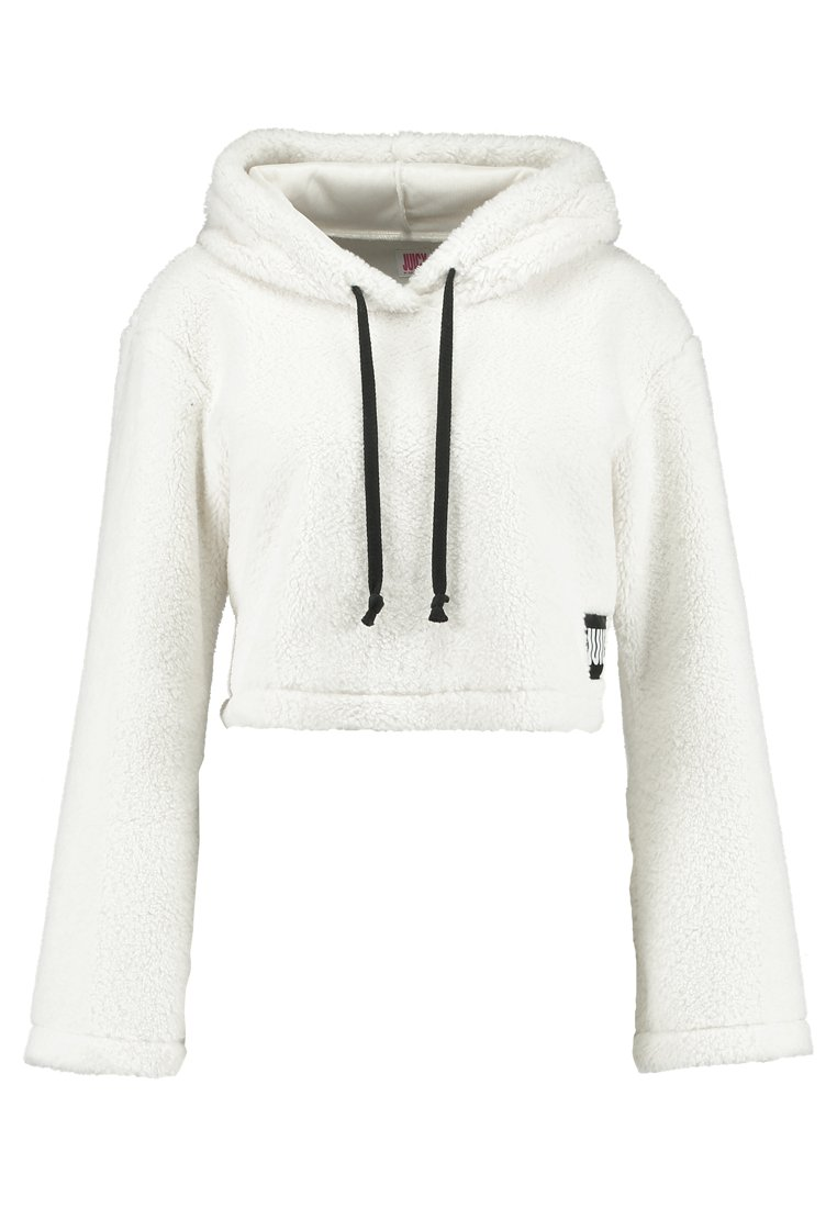 Juicy Couture SHERPA HOODED Bluza z kapturem natural - JWTKT100615